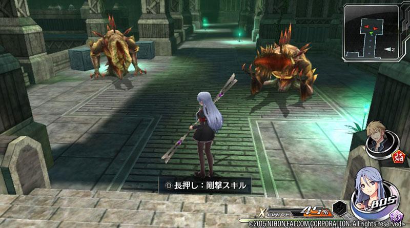 Tokyo Xanadu PS Vita Demo Japan