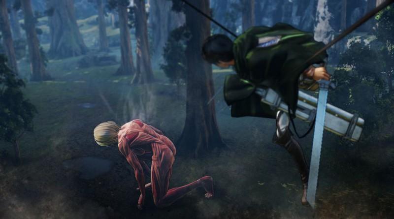 Attack On Titan PS Vita PS3 PS4