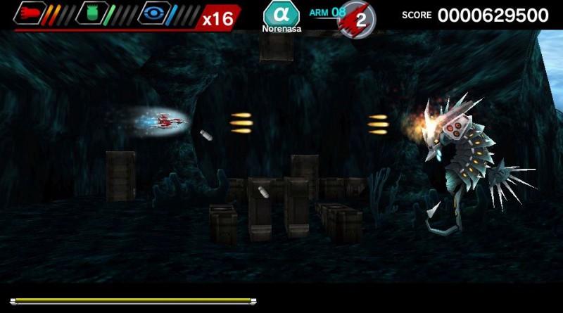 DARIUSBURST Chronicles Saviours PS Vita PS4