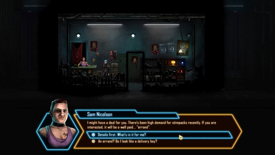 Ps4 Games Science Fiction : Cyberpunk adventure dex coming to ps vita and in