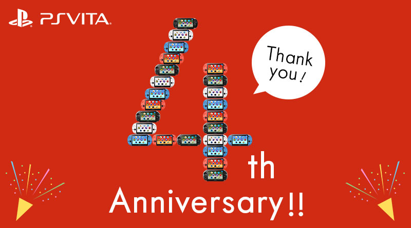 Happy Birthday PS Vita