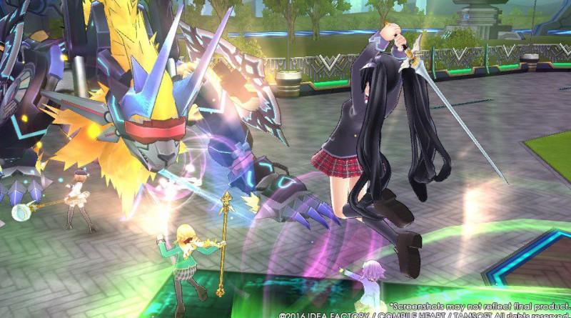 MegaTagmension Blanc + Neptune VS Zombies PS Vita