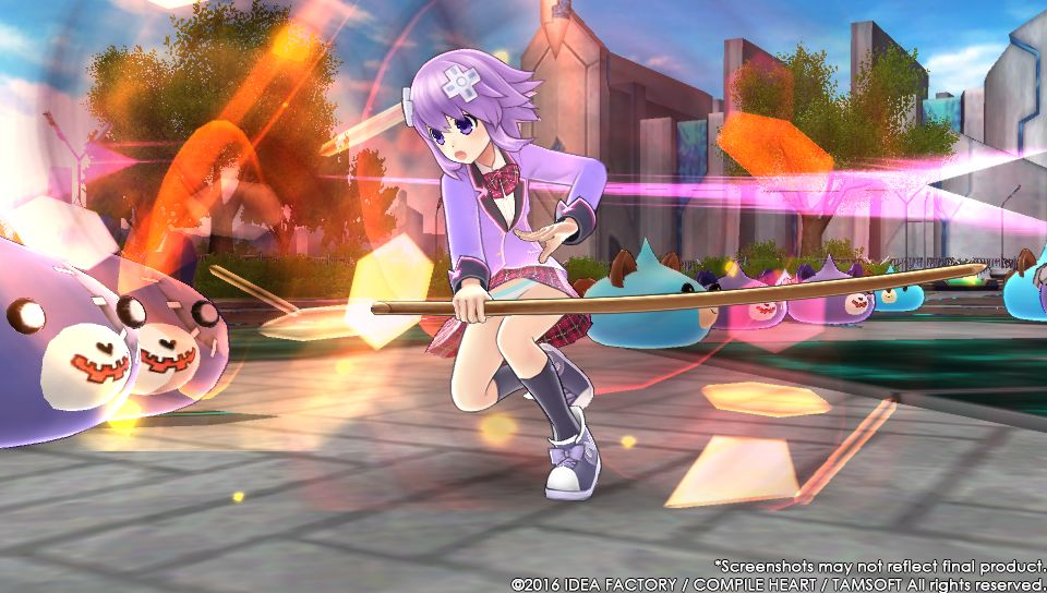 MegaTagmension Blanc + Neptune VS Zombies PS Vita