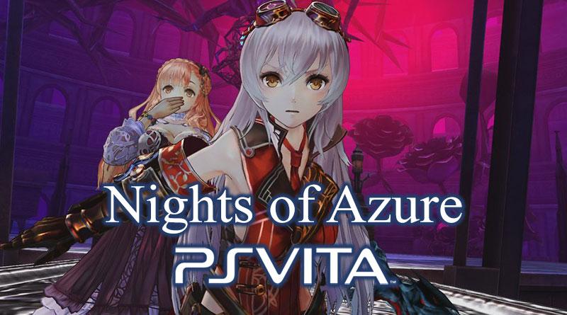 Nights of Azure PS Vita Yoru No Nai Kuni