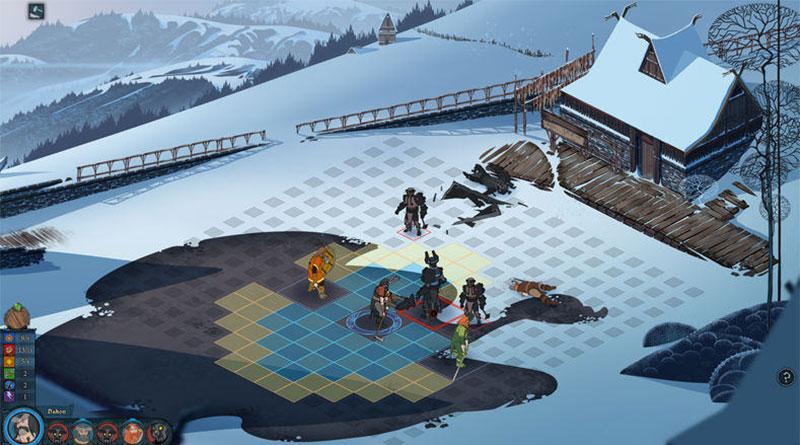 The Banner Saga PS Vita