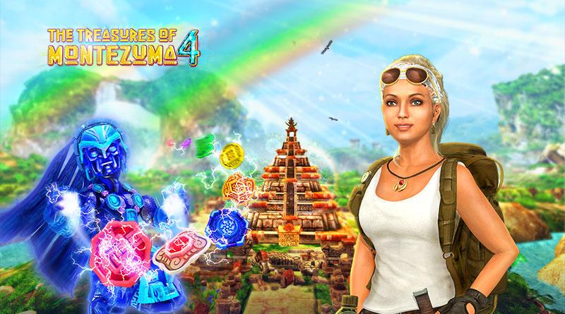 The Treasures of Montezuma 4 PS Vita PS3 PS4