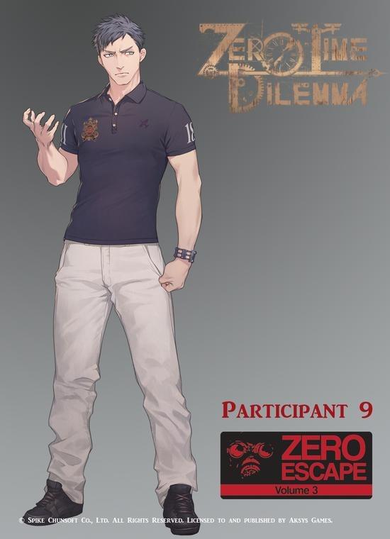 Zero Time Dilemma Participant 9