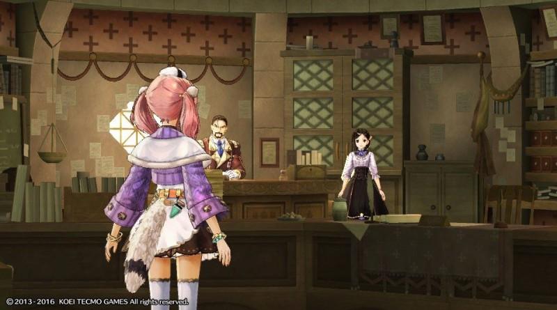 Atelier Escha & Logy Plus: Alchemists of the Dusk Sky PS Vita