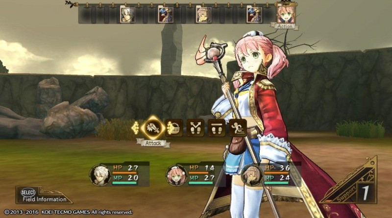 Atelier Escha & Logy Plus: Alchemists of the Dusk Sky PS Vita