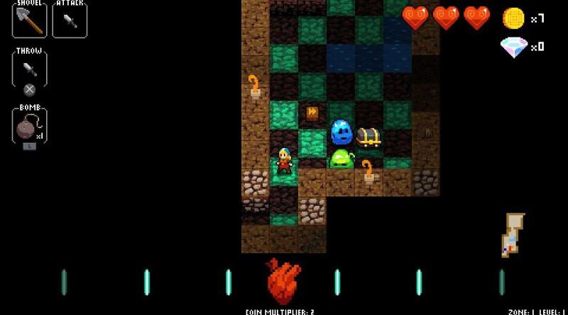 Crypt Of The NecroDancer PS Vita PS4