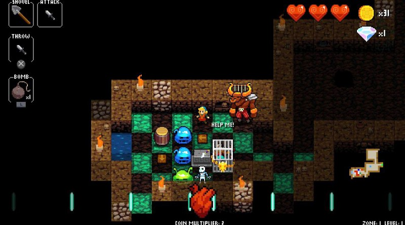 Crypt Of The NecroDancer PS Vita PS4
