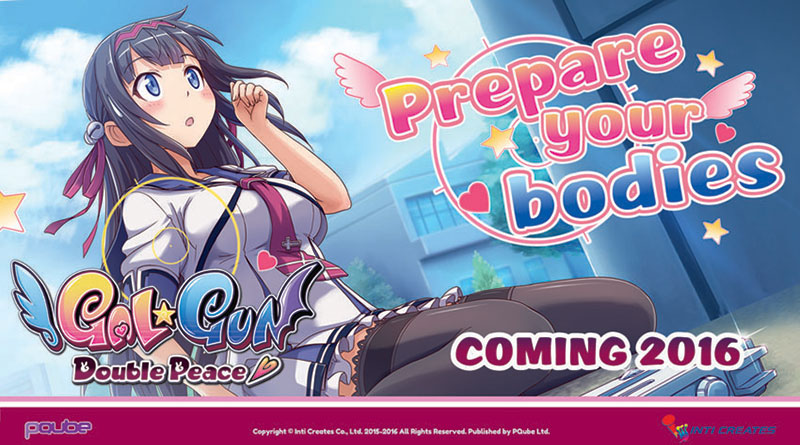 Gal Gun: Double Peace PS Vita PS4