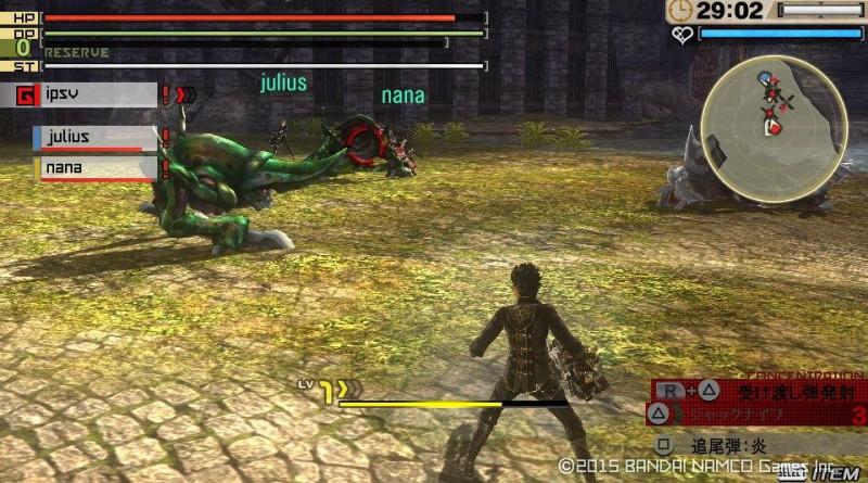God Eater 2: Rage Burst PS Vita PS4