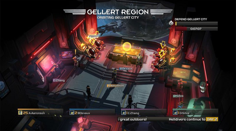 Helldivers: Democracy Strikes Back PS Vita