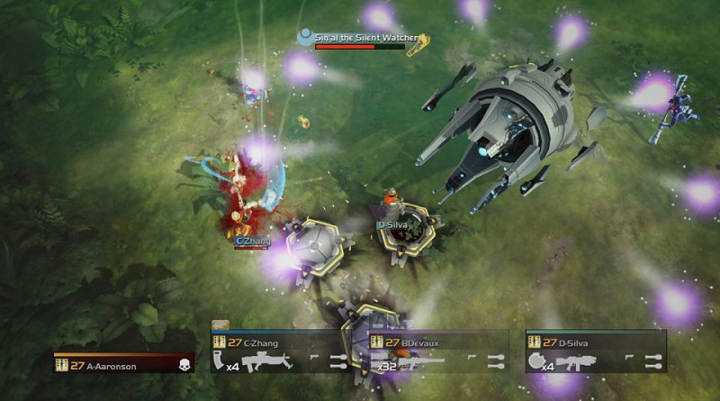 Helldivers: Democracy Strikes Back PS Vita
