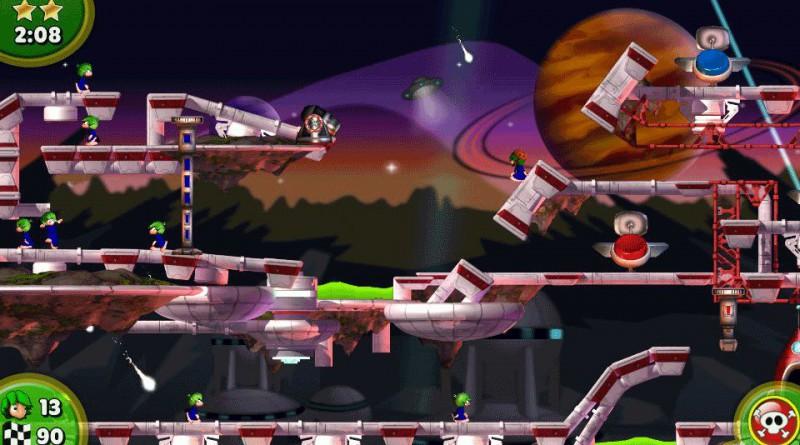 Lemmings Touch PS Vita