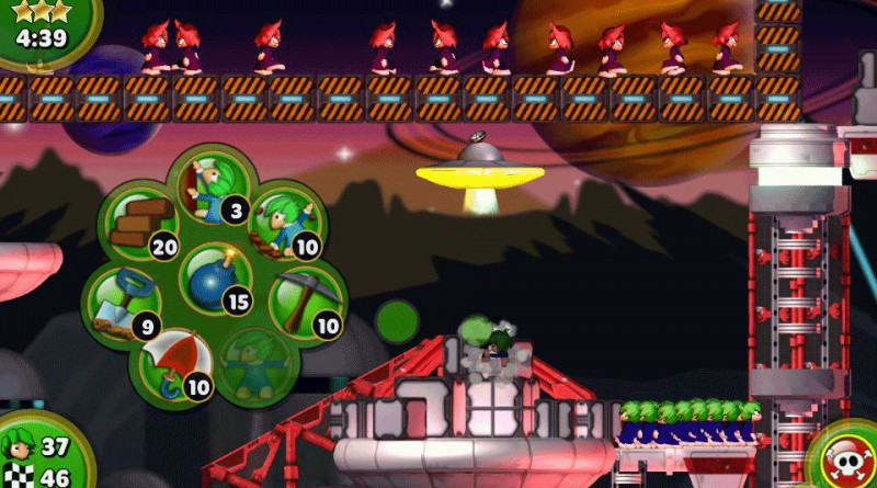 Lemmings Touch PS Vita