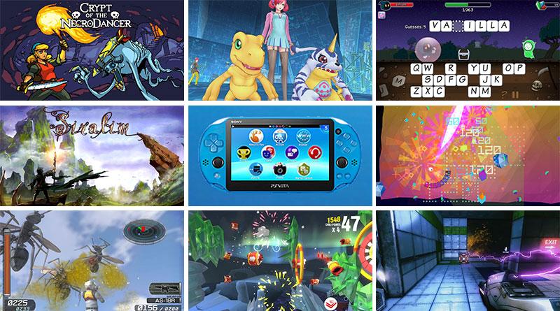 PS Vita New Releases North America & Europe February 2016
