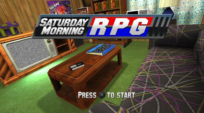 Saturday Morning RPG PS Vita PS4