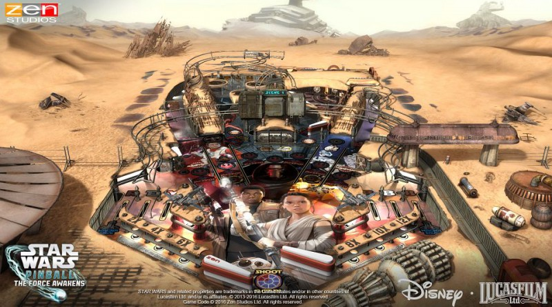 Star Wars Pinball: The Force Awakens Pack PS Vita PS3 PS4