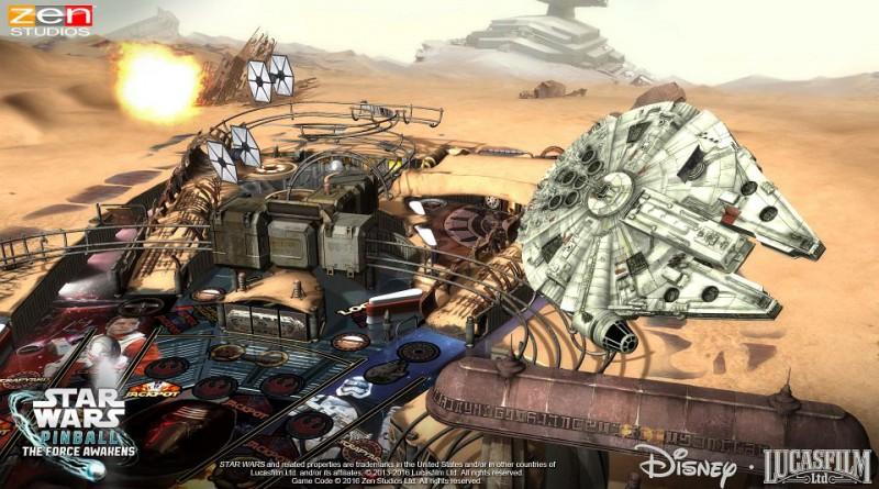 Star Wars Pinball: The Force Awakens Pack PS Vita PS3 PS4