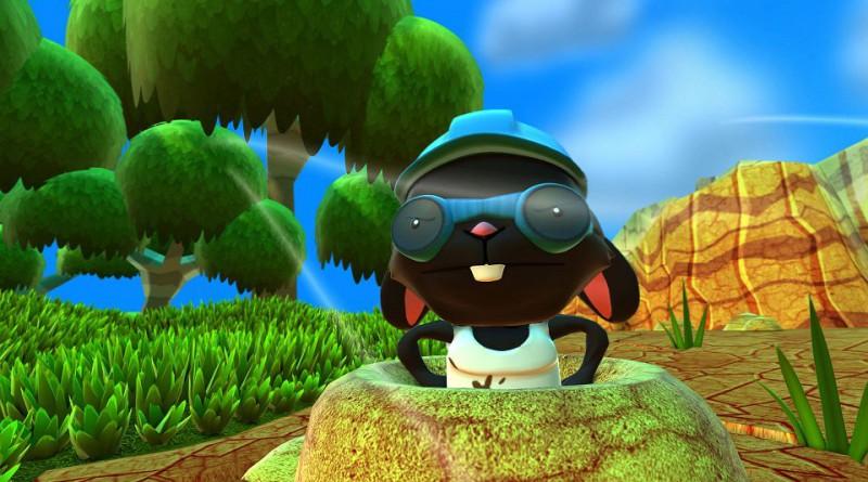 Blast 'Em Bunnies PS Vita PS4