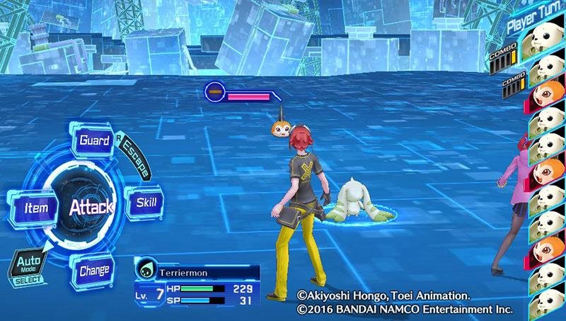#PSVitaShare Digimon Story: Cyber Sleuth PS Vita
