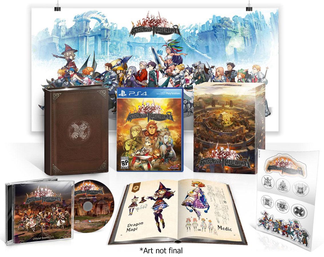 Grand Kingdom PS Vita PS4 Limited Edition