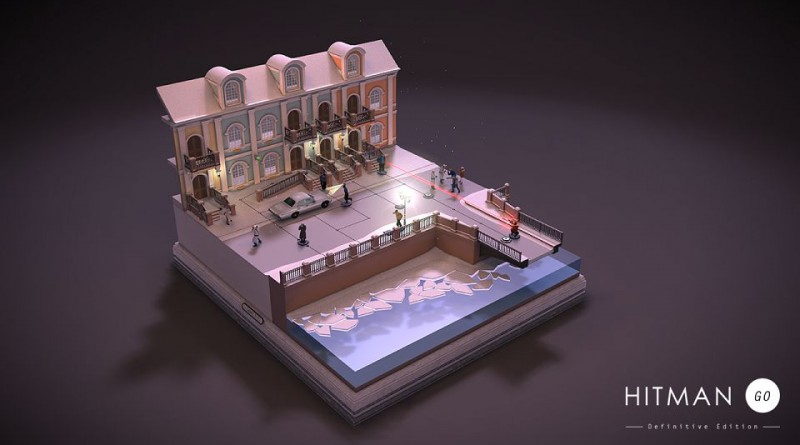 Hitman GO PS Vita PS4