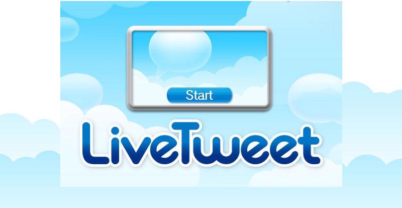 LiveTweet Twitter App