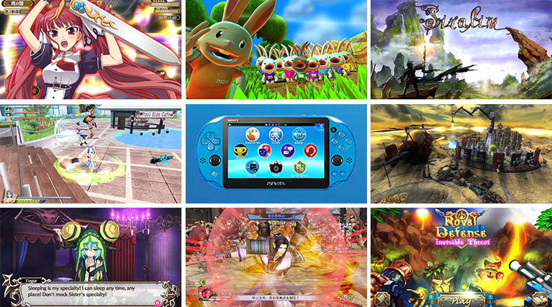 PS Vita New Releases North America & Europe March 2016