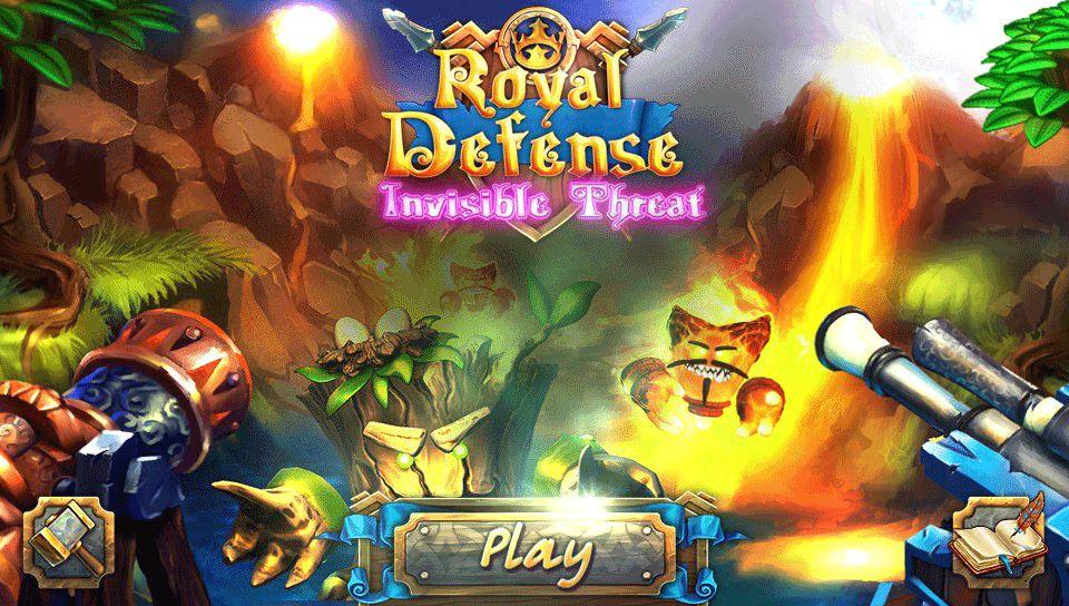 Royal Defense: Invisible Threat PS Vita
