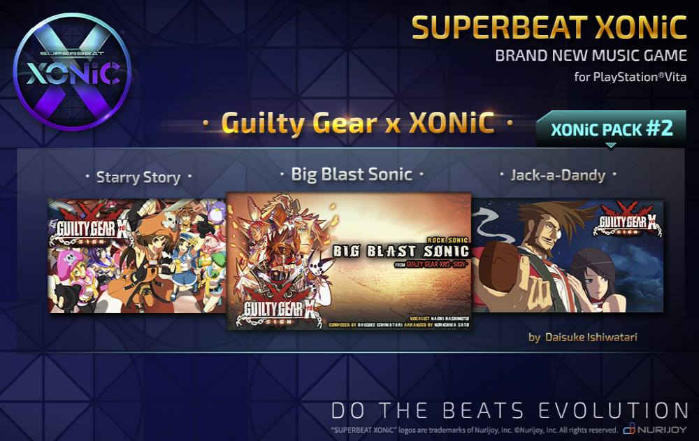 XONiC Pack 2: Guilty Gear x XONIC