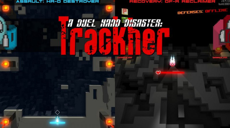 A Duel Hand Disaster: Trackher PS Vita PS4