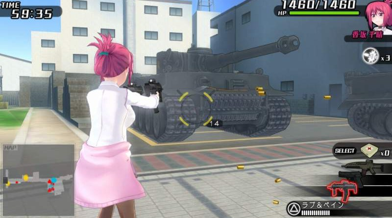 Bullet Girls 2 PS Vita