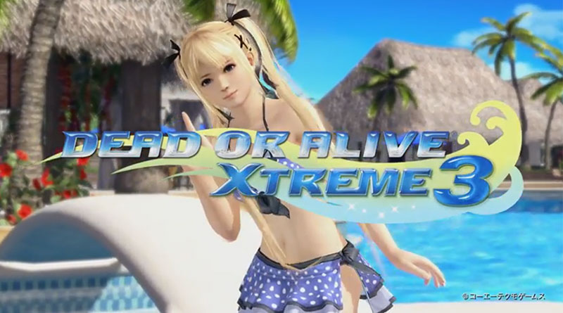 Dead or Alive Xtreme 3 PS Vita PS4