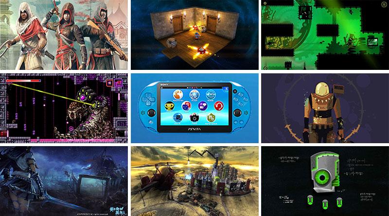 PS Vita New Releases North America & Europe April 2016