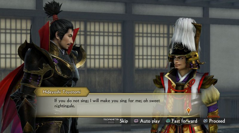 Samurai Warriors 4: Empires PS Vita PS3 PS4