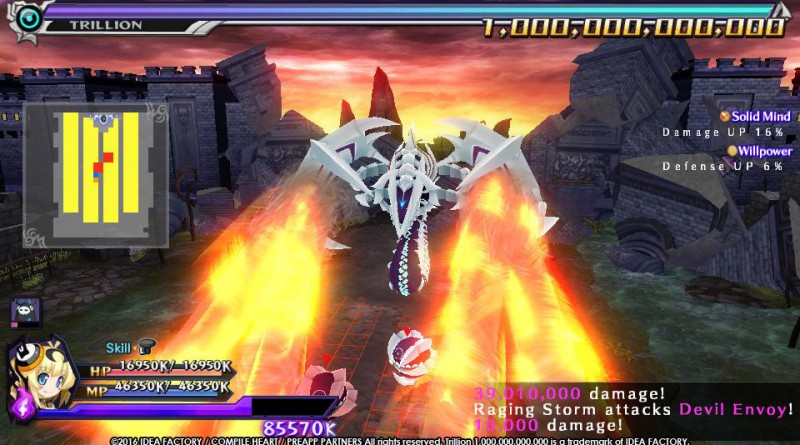 Trillion: God of Destruction PS Vita