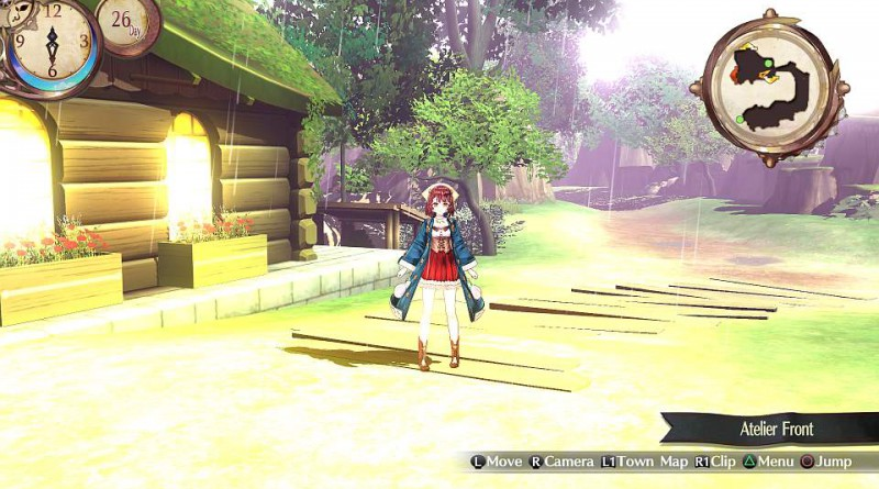 Atelier Sophie: The Alchemist of the Mysterious Book PS Vita PS4