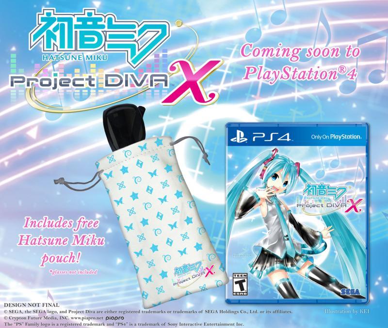 Hatsune Miku: Project DIVA X PS4 Pouch