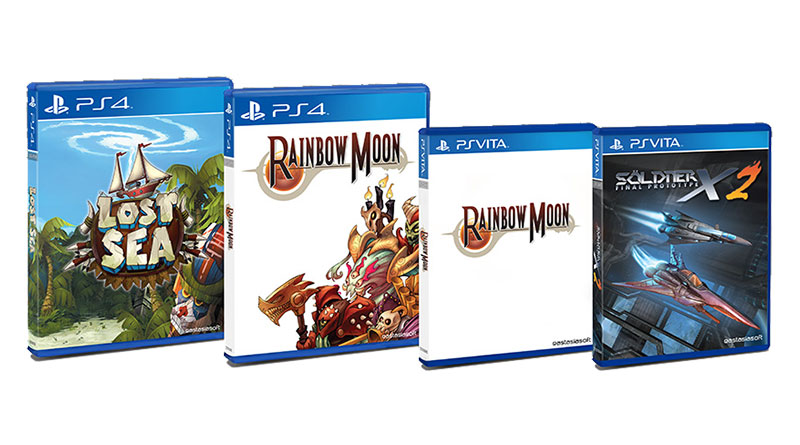 Limited Physical Editions of Lost Sea, Rainbow Moon & Söldner-X 2: Final Prototype Announced