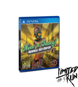 Oddworld: New 'n' Tasty PS Vita Limited Physical Release