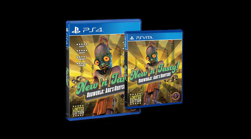 Oddworld: New 'n' Tasty PS Vita PS4 Limited Physical Release