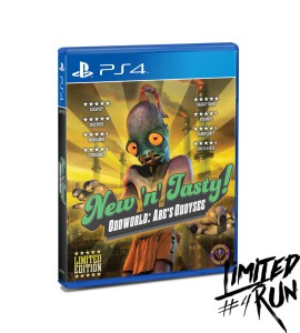 Oddworld: New 'n' Tasty PS4 Limited Physical Release