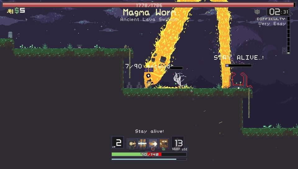 Risk of Rain PS Vita PS4