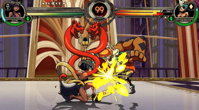 Skullgirls 2nd Encore PS Vita PS4