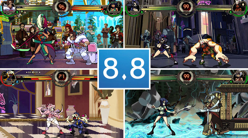 Skullgirls 2nd Encore PS Vita Review