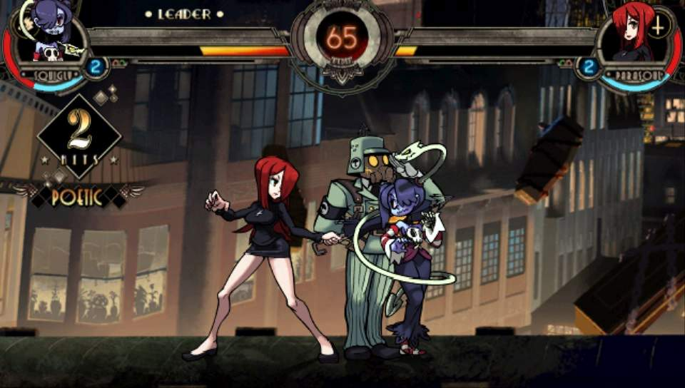 Skullgirls 2nd Encore PS Vita