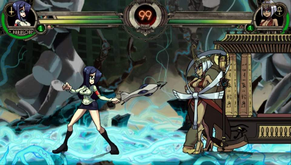 Skullgirls 2nd Encore PS Vita